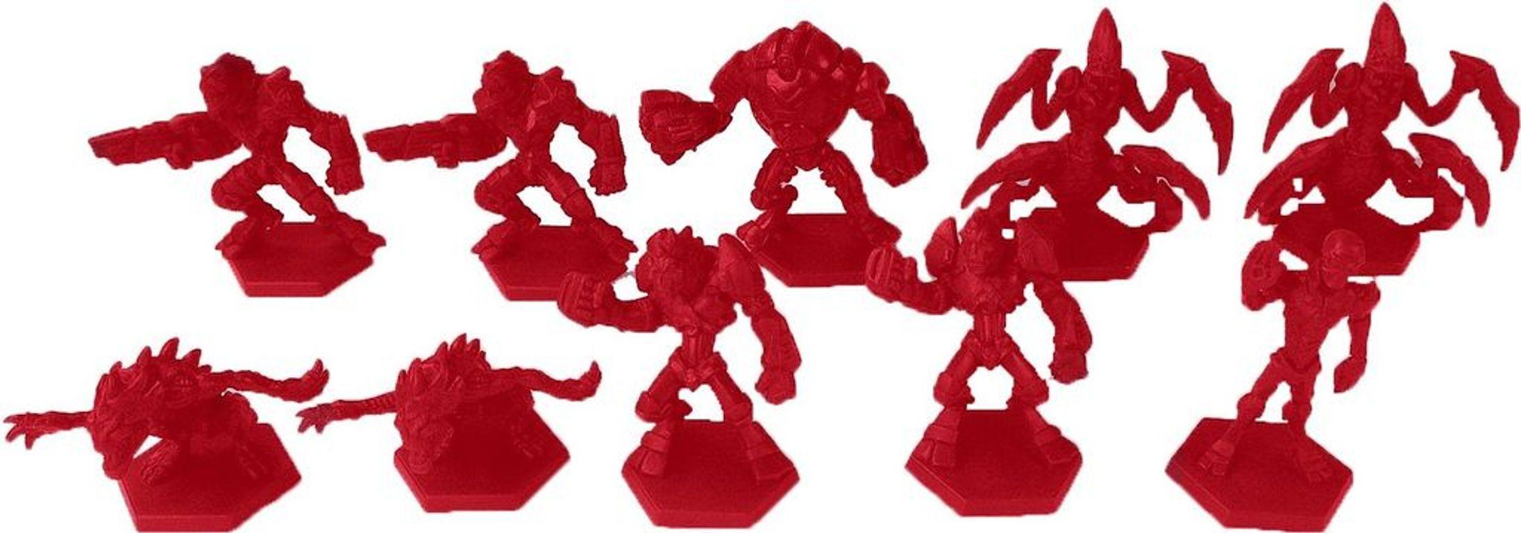 Galaxy Defenders: Elite Alien Army miniatures