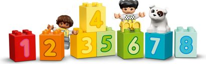 LEGO® DUPLO® Number Train - Learn To Count components