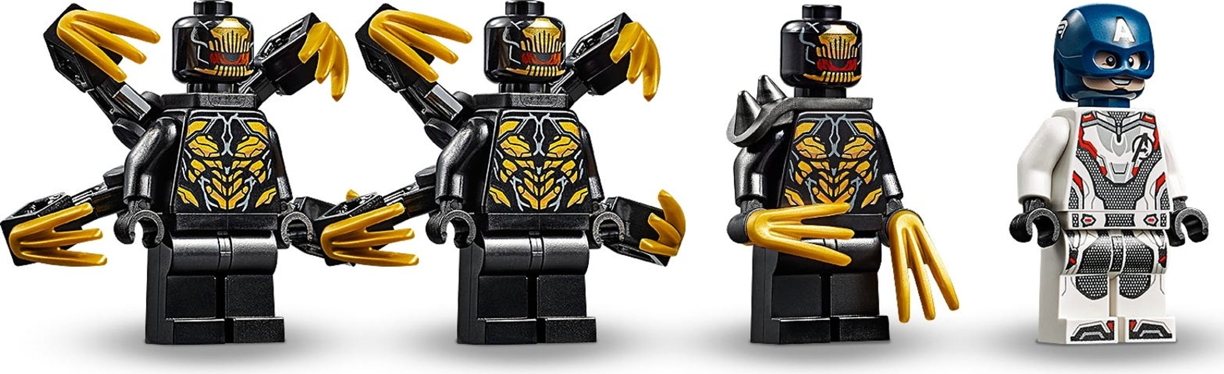 LEGO® Marvel Captain America: Outriders Attack minifigures