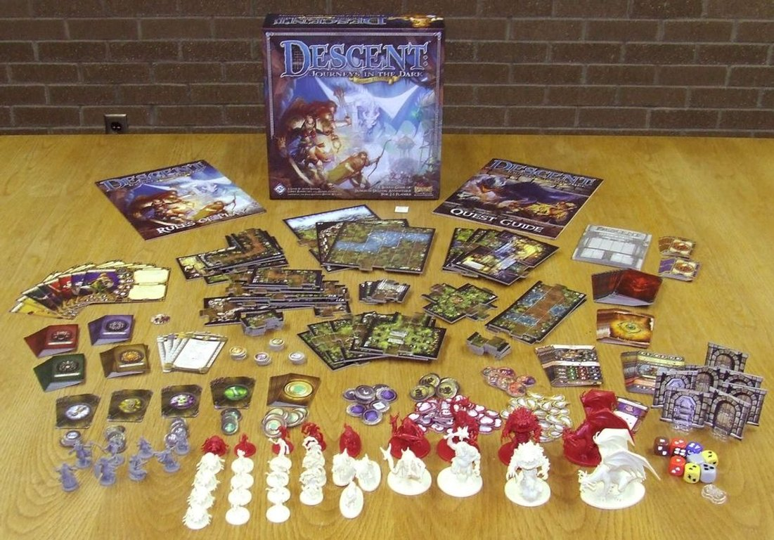 Descent: Journeys in the Dark (Second Edition) components