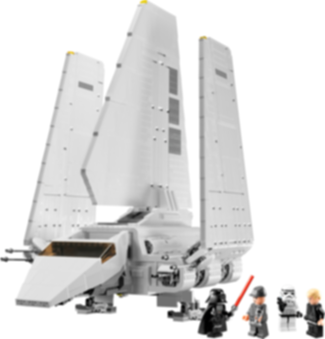 Imperial Shuttle components