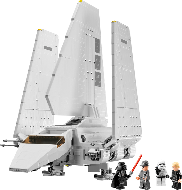 LEGO® Star Wars Imperial Shuttle components