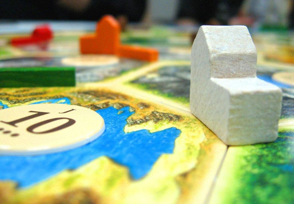 The Settlers of Catan components
