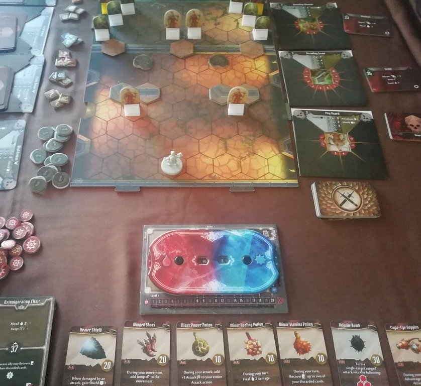 Gloomhaven: Solo Scenarios components