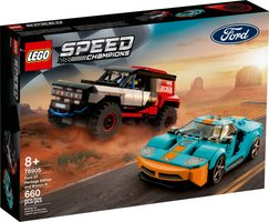 LEGO® Speed Champions Ford GT Heritage Edition and Bronco R