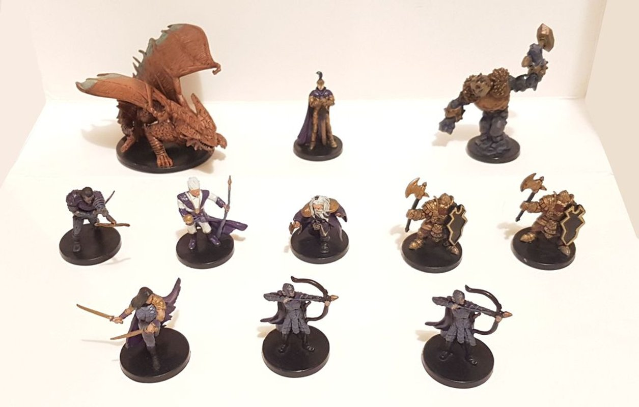 Dungeon Command: Heart of Cormyr miniatures