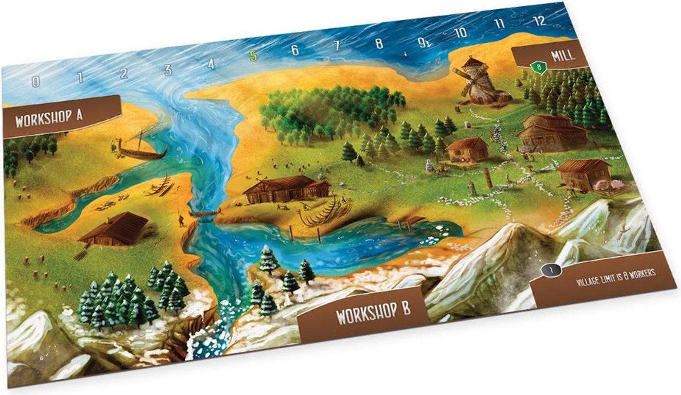 Shipwrights of the North Sea game board