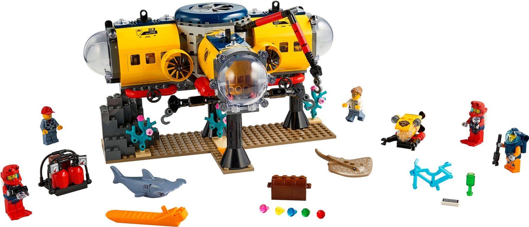 Ocean Exploration Base components