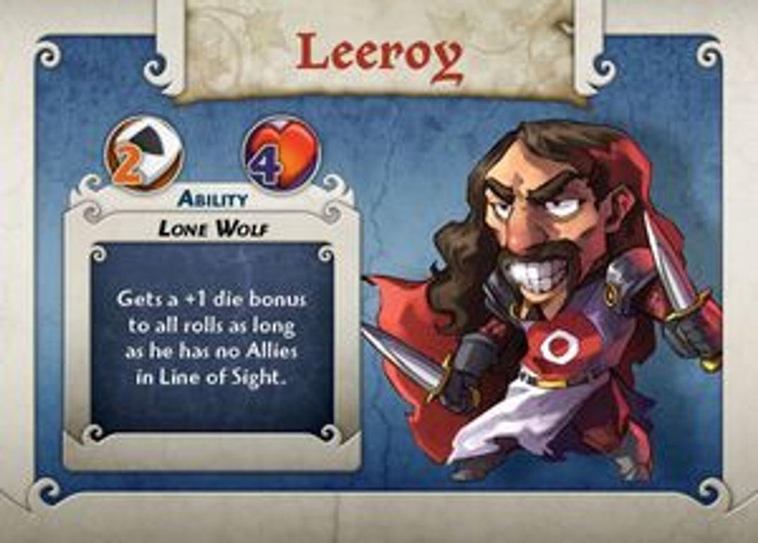 Arcadia Quest: Leeroy card