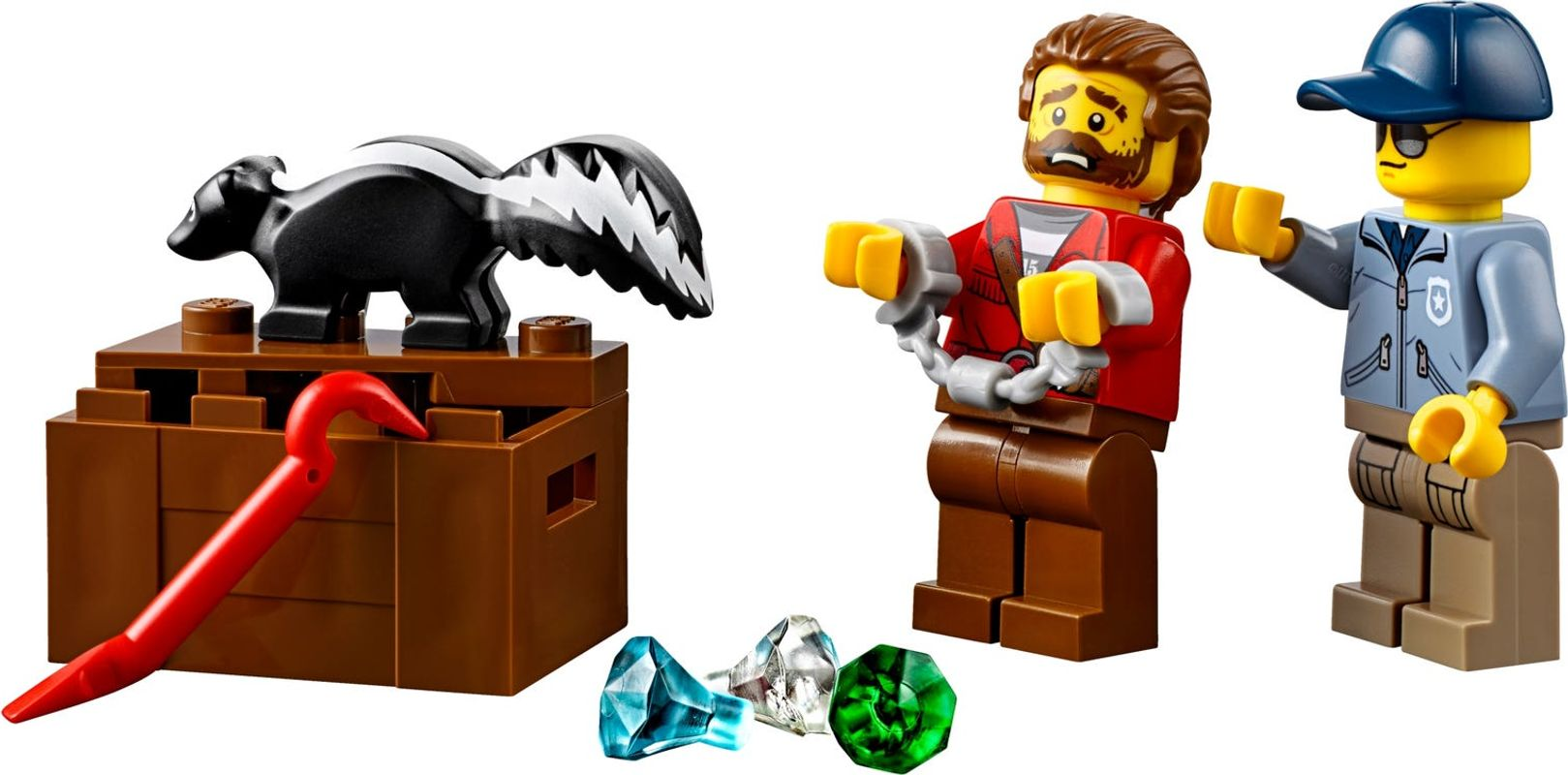 Wild River Escape minifigures
