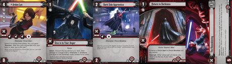 Star Wars: The Card Game - Jump to Lightspeed cards