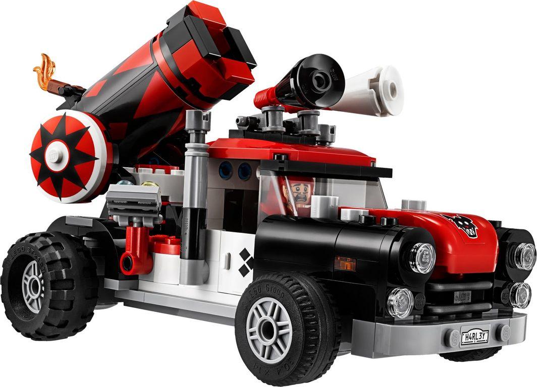 LEGO® Batman Movie Harley Quinn™ Cannonball Attack components