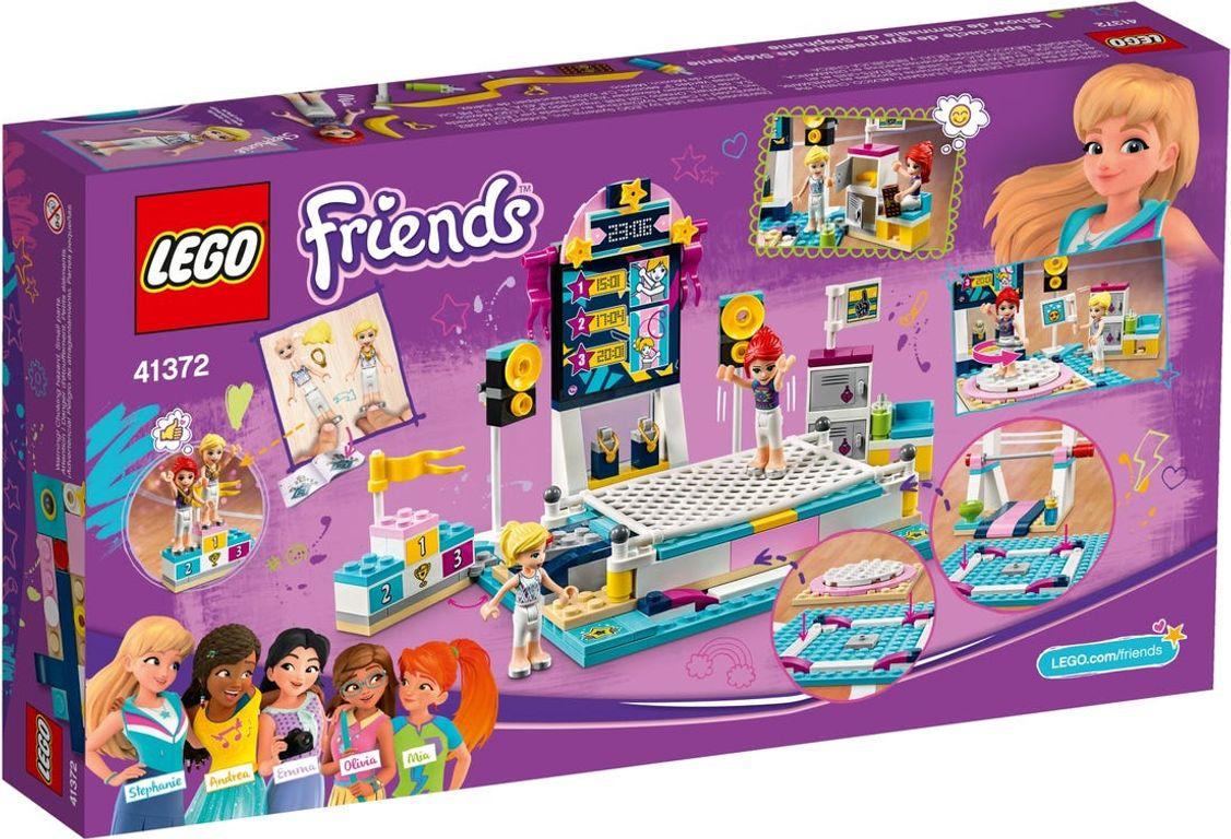 LEGO® Friends Stephanie's Gymnastics Show back of the box