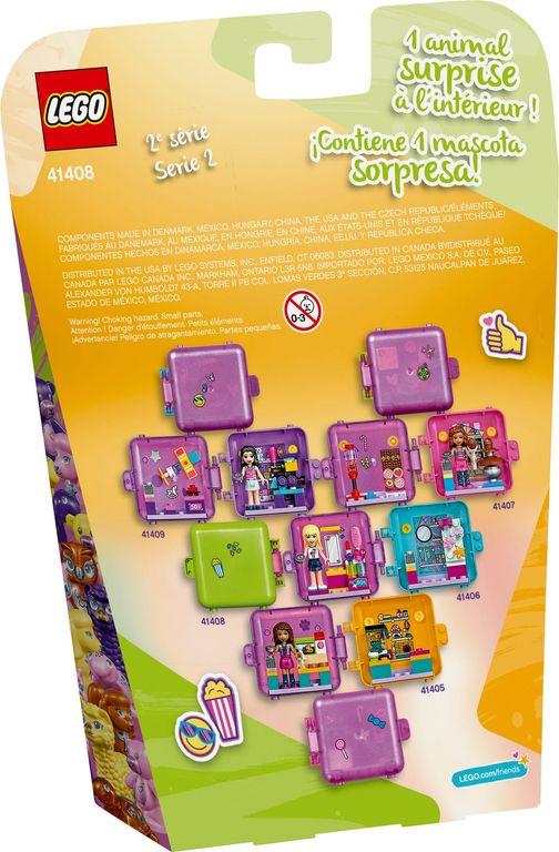 Mia's Shopping Play Cube back of the box