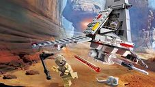 LEGO® Star Wars T-16 Skyhopper gameplay
