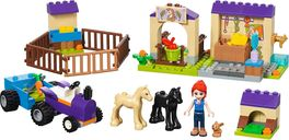 LEGO® Friends Mia's Foal Stable components