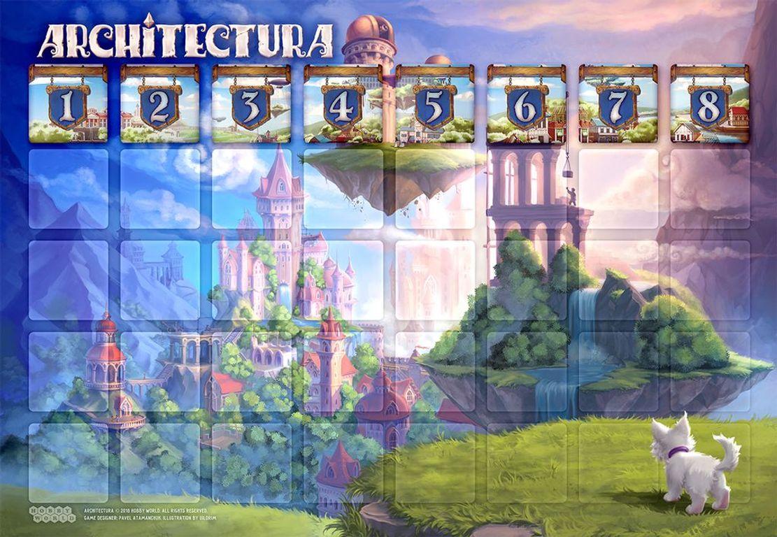Architectura game board
