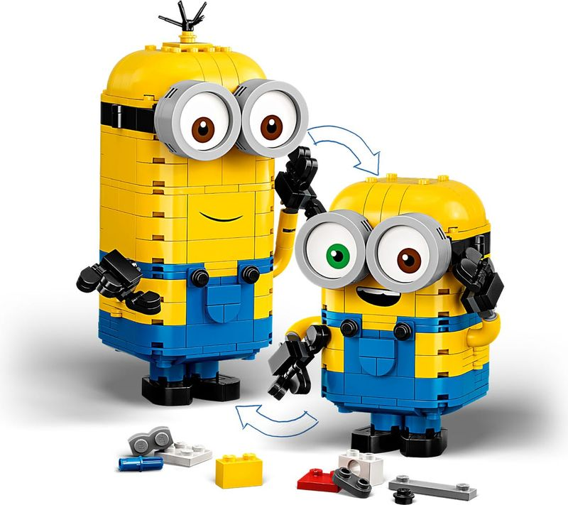 Brick-built Minions and their Lair components