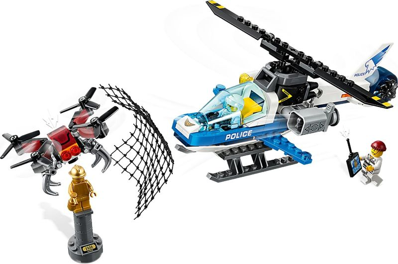 LEGO® City Sky Police Drone Chase gameplay