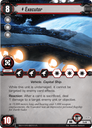 Star Wars: The Card Game - Escape from Hoth Executor card