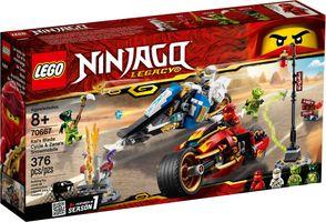 LEGO® Ninjago Kai's Blade Cycle & Zane's Snowmobile