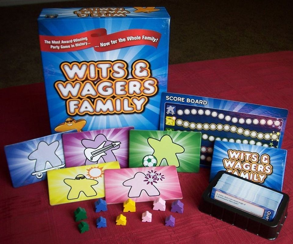 Wits and Wagers Family components