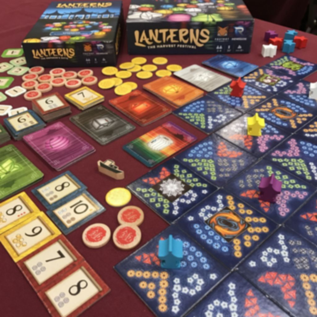 Lanterns: The Emperor's Gifts gameplay