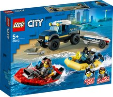 LEGO® City Police Boat Transport