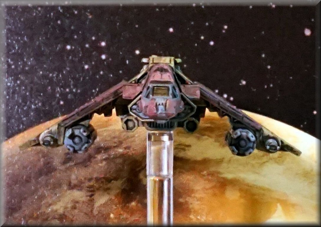 Star Wars: X-Wing Miniatures Game - Kihraxz Fighter Expansion Pack miniature