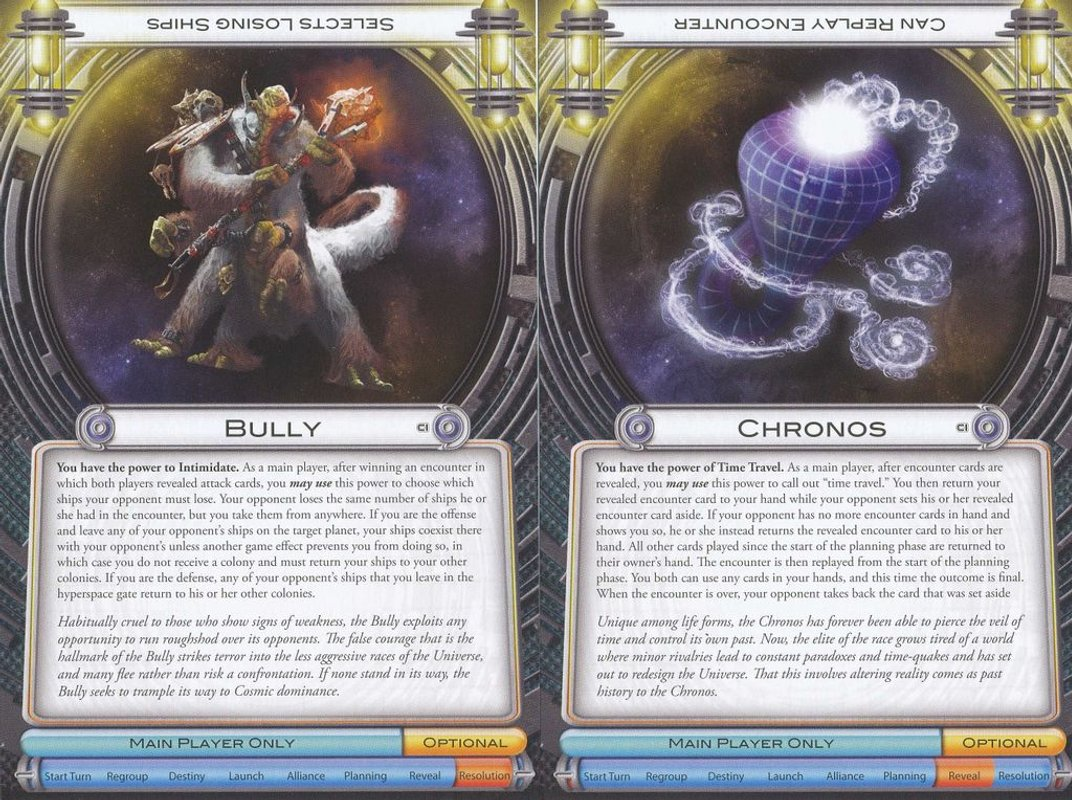 Cosmic Encounter: Cosmic Incursion cards