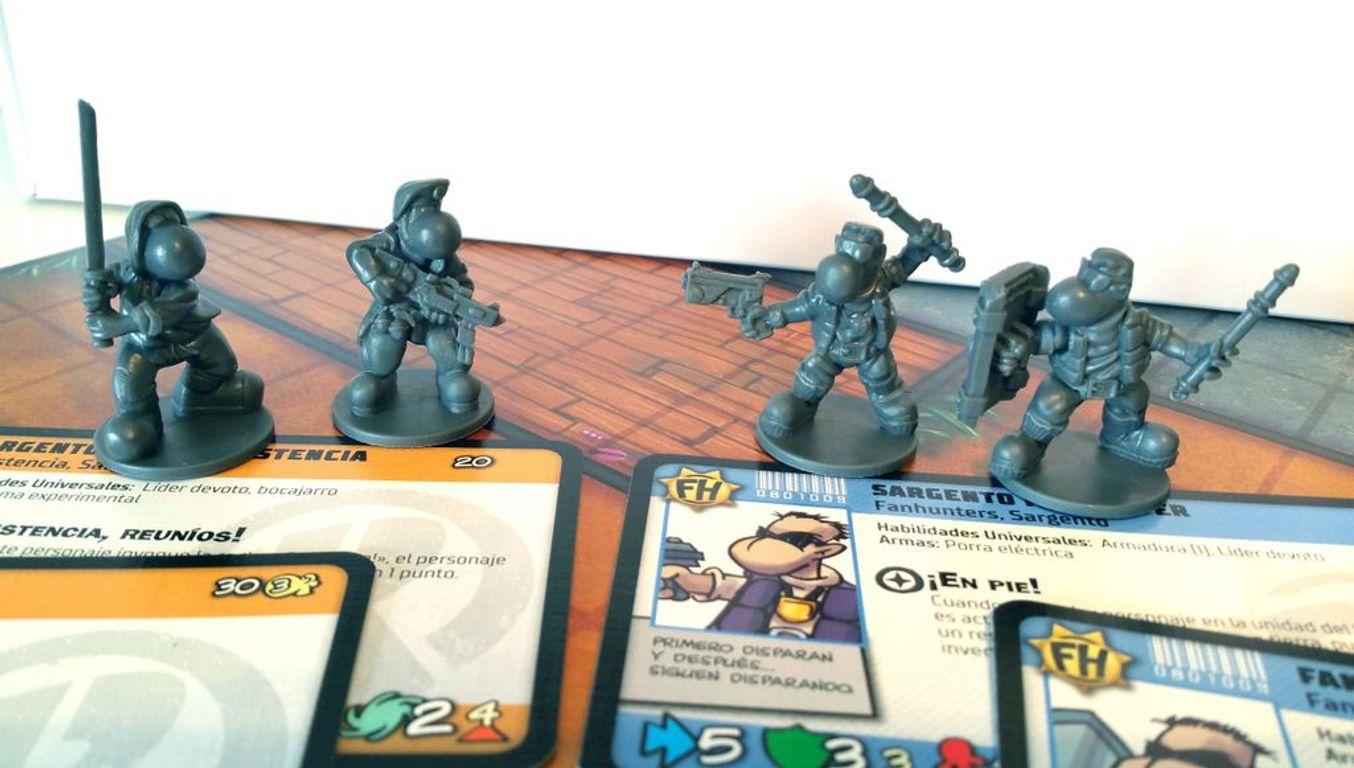 Fanhunter: Urban Warfare components