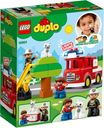 LEGO® DUPLO® Fire Truck back of the box