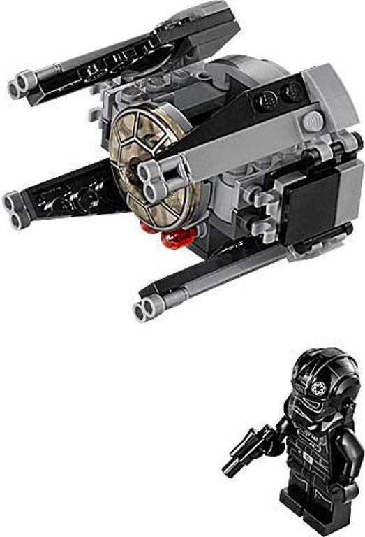 LEGO® Star Wars TIE Interceptor components