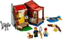 LEGO® Creator Outback Cabin components