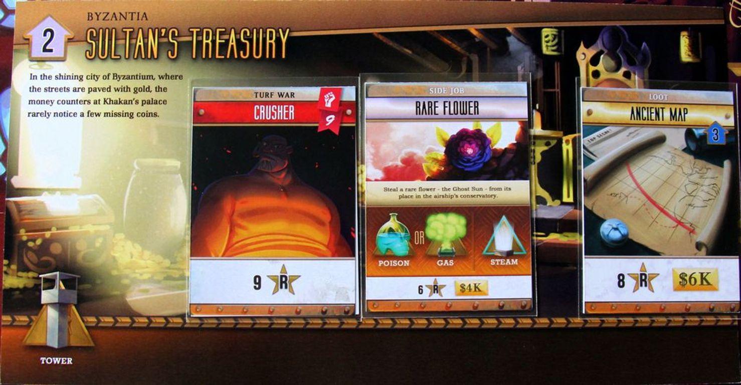 Skyway Robbery cards