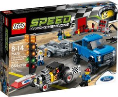 LEGO® Speed Champions Ford F-150 Raptor & Ford Model A Hot Rod