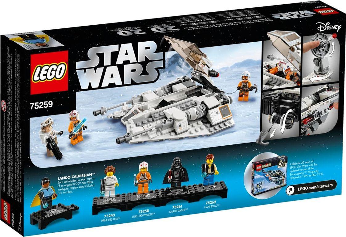 LEGO® Star Wars Snowspeeder™ – 20th Anniversary Edition back of the box