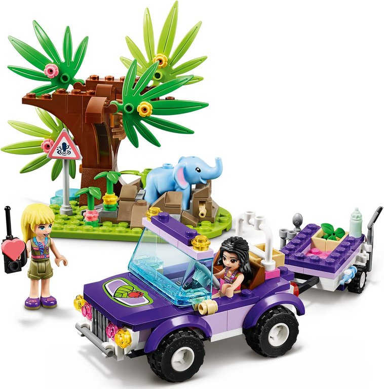 LEGO® Friends Baby Elephant Jungle Rescue gameplay