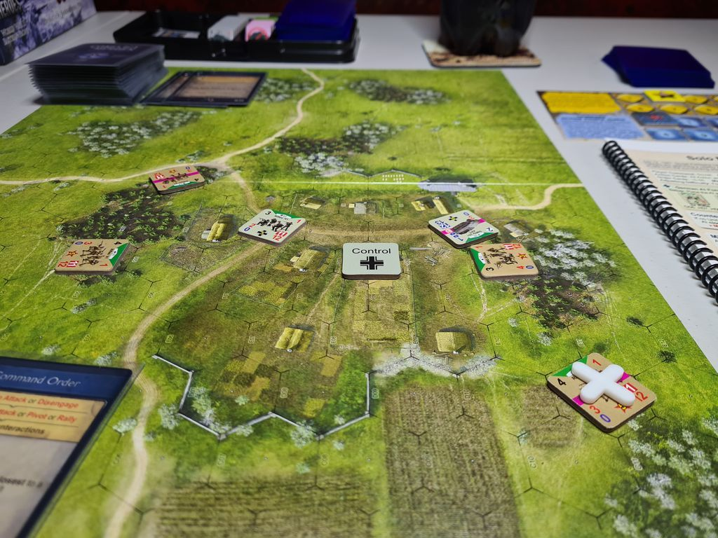 Conflict of Heroes: Awakening the Bear – Operation Barbarossa 1941 (Third Edition) gameplay