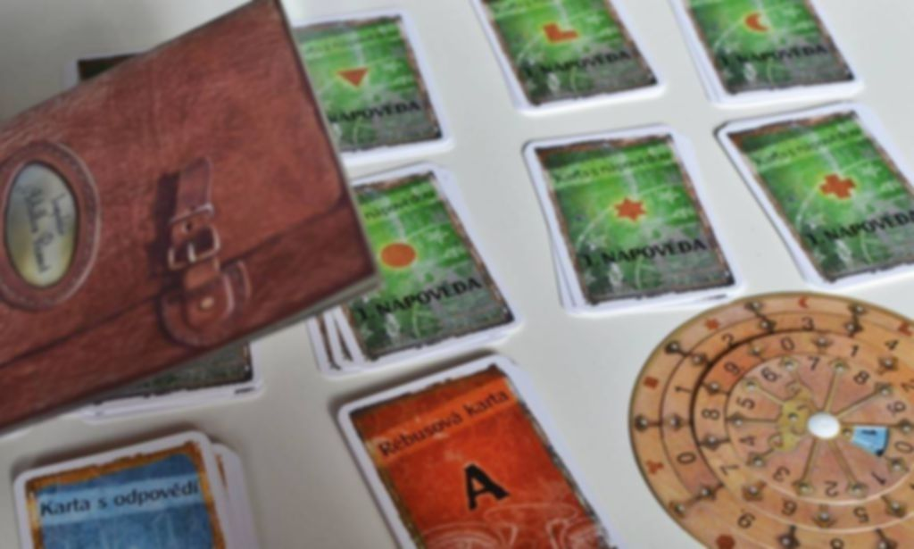 Exit: The Game - Dead Man on the Orient Express components