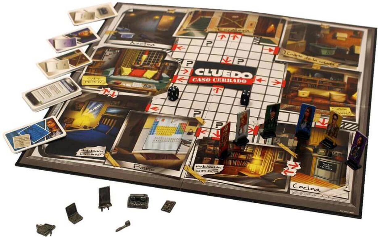 CLUE: The Big Bang Theory gameplay