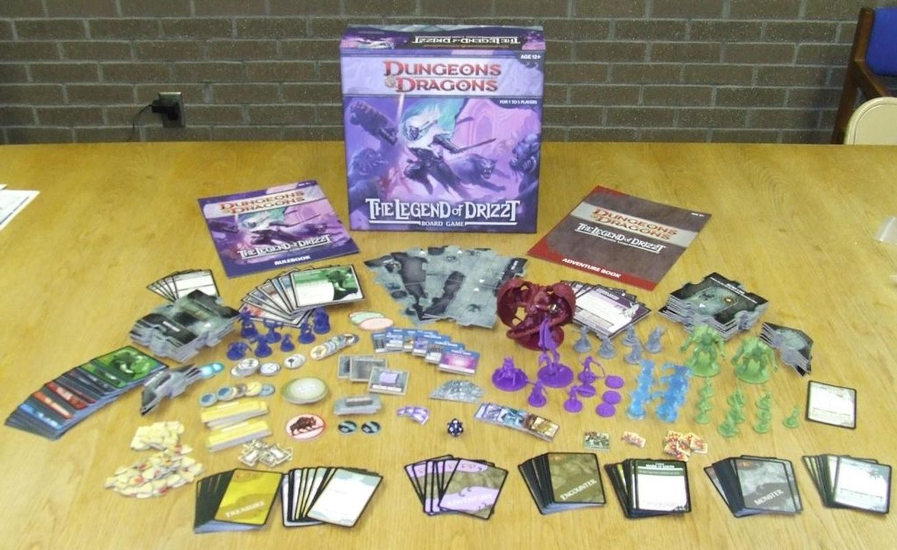 Dungeons & Dragons: The Legend of Drizzt components