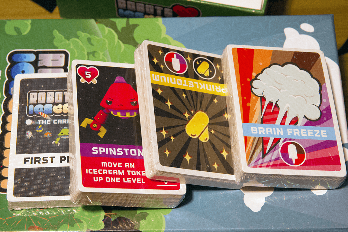 Robots Love Ice Cream: The Card Game cards