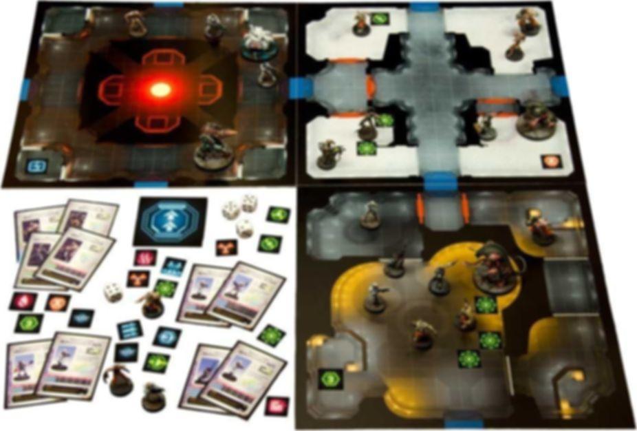 Sedition Wars: Battle for Alabaster components
