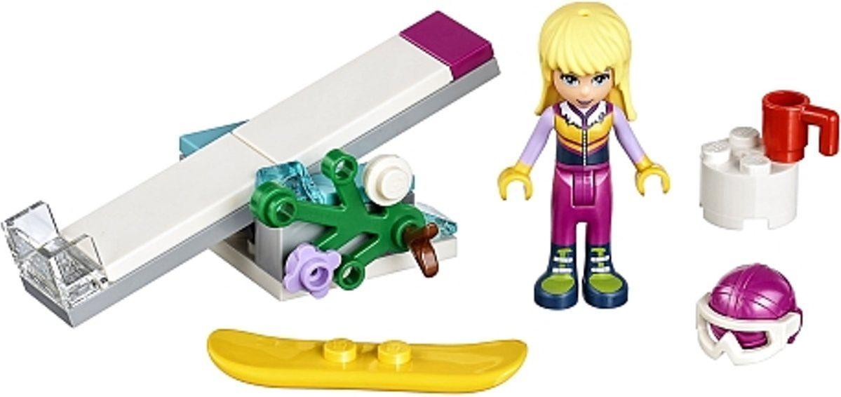 LEGO® Friends Snowboard Tricks components