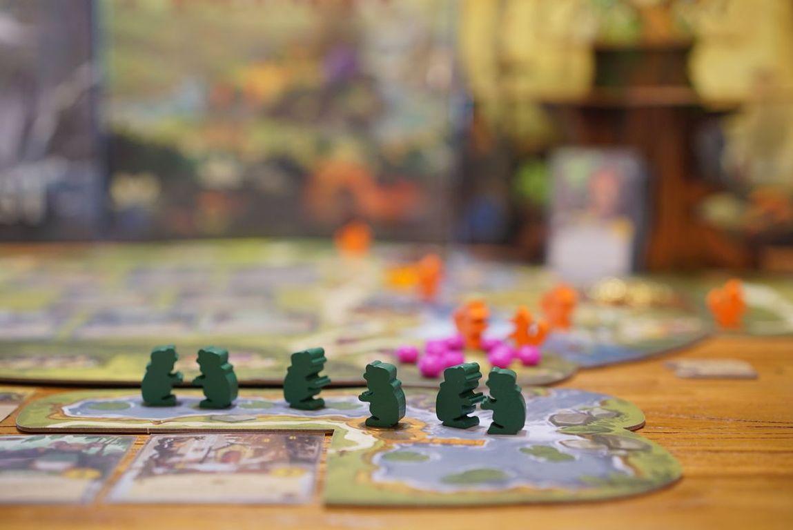 Everdell: Bellfaire gameplay