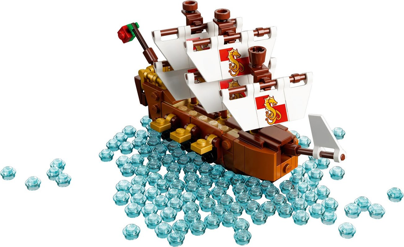 Ship in a Bottle components