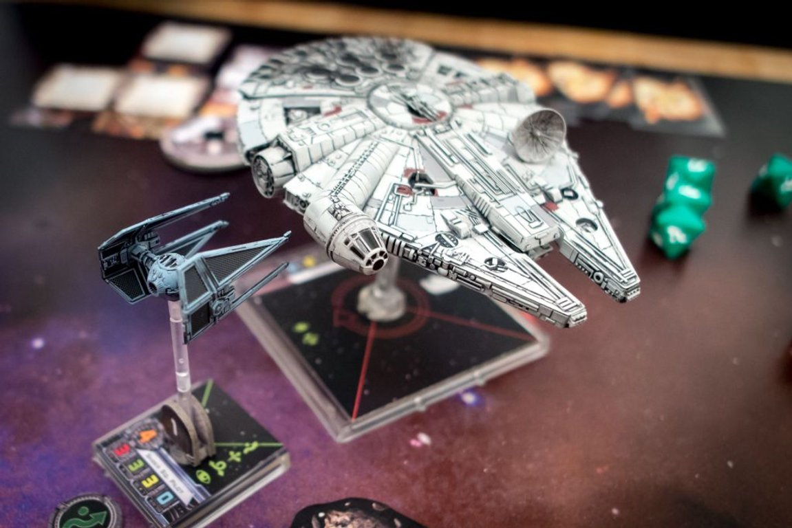 Star Wars: X-Wing Miniatures Game - TIE Interceptor Expansion Pack miniatures