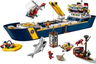 LEGO® City Ocean Exploration Ship gameplay