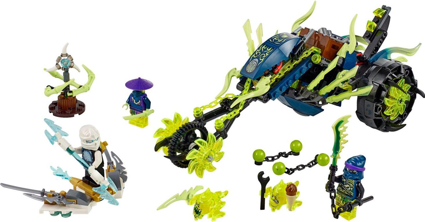 LEGO® Ninjago Chain Cycle Ambush components